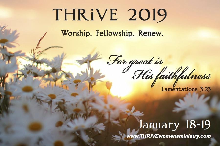 final-THRiVE 2019 Faithfulness