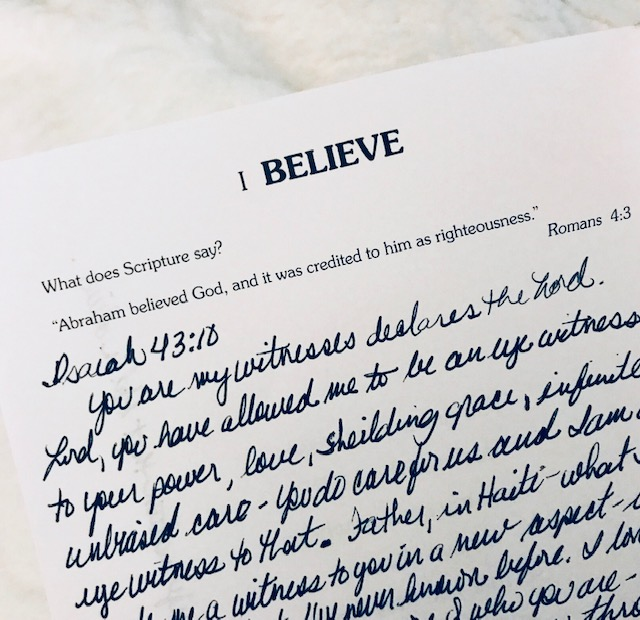 I believe journal